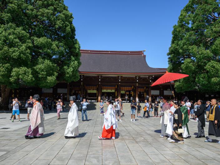 ayaka + takuya | Meiji shrine